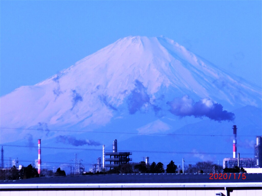 1月の富士