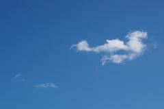 今日の空シリーズ3「雲一つ無…」