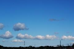 今日の空シリーズ2「線状造雲帯」?