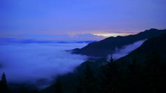 三峯神社_遥拝殿からの雲海