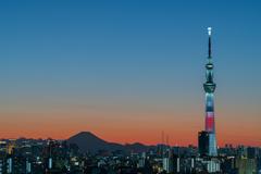 Sunset in Tokyo 2020