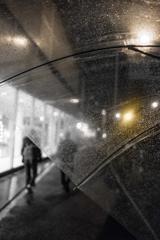 DAIKANYAMA STREET AT NIGHT RAIN