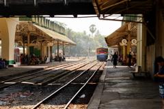 ヤンゴン中央駅