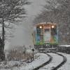 樽見鉄道雪景色