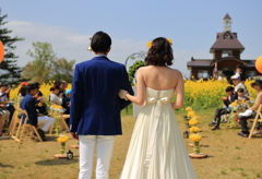 菜の花 Happy wedding