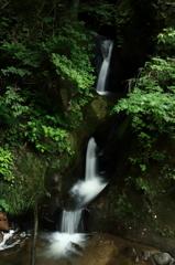 大滝なのに小さな滝。