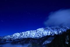 星降る戸隠西岳