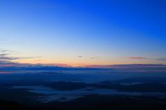 日本国道最高地点の夜明け