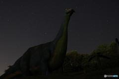 本物の恐竜も眺めてたかな?
