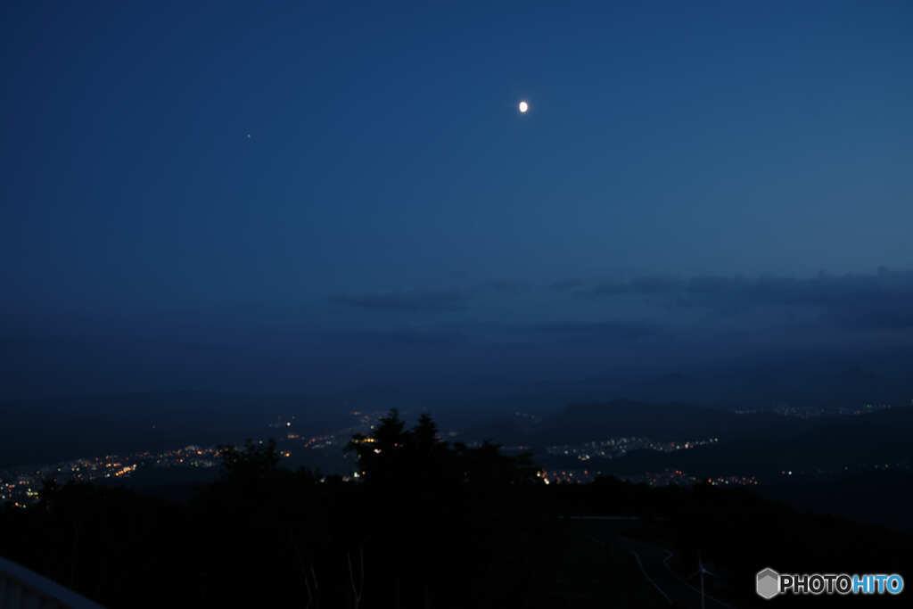 藻岩山からの夕景③