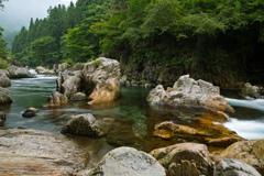 大芦川・虎岩