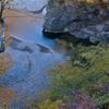秋色、鬼怒川上流
