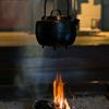 曲家の囲炉裏
