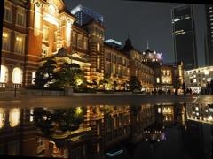 雨上がりの東京駅3