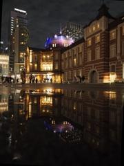 雨上がりの東京駅4