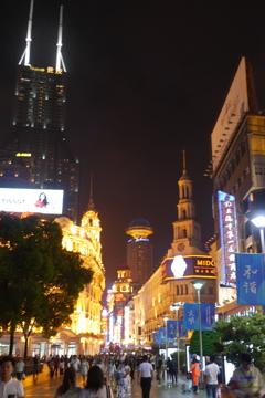 上海夜景(南京路1)