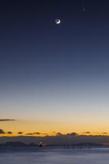 夕と夜の境界