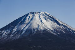 静岡県 元旦の富士山