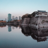 晩秋の大阪城公園