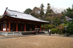 冬の平等寺