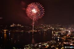 朝10時に長崎の花火を撮影することに決めてから走りました。。。