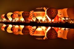 La Montgolfier Nocturne(夜間係留)にときめく瞬間