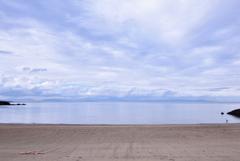 誰もいない海。      のはずが。。。
