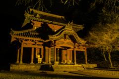 静かに佇む孔子廟