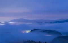 奇跡の冬雲海