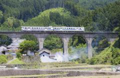 東峰村岩尾の橋