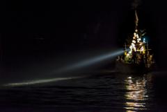 沖ノ島をめざして。