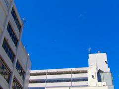 仙台市上空・浮遊物体