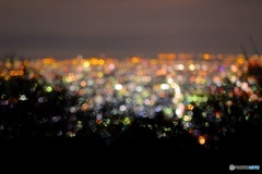 大阪夜景キラキラ