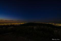二つの夜...山頂から