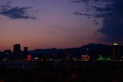 夏夜の宴前_神戸港