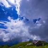 天上の小屋