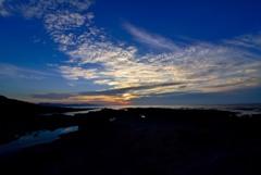 日本海Sunset_五色浜