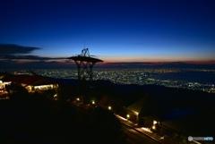 大阪夜景_六甲山ガーデンテラス02