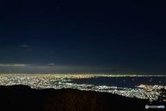 大阪夜景_六甲山ガーデンテラス01