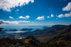 海と空と山