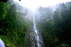 荘厳。神秘の大滝