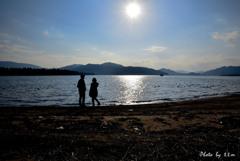 阿蘇海と与謝の山々