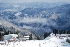 近畿の冬山_オジロスキー場