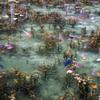 根道神社モネの池