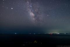 伊良湖岬の星空