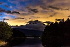 田貫湖、夜明け前