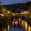 倉敷川の灯