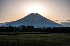 山頂の閃光