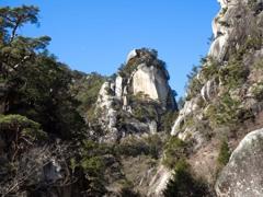 奇岩の峡谷