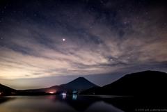 夜空の流れ